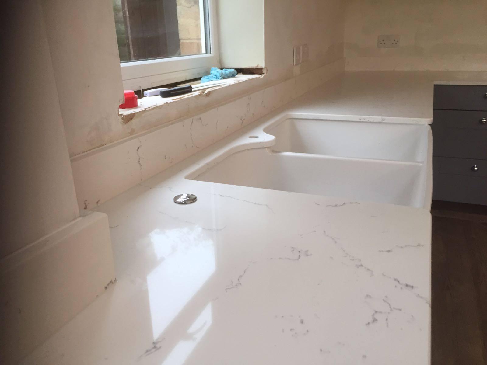 Carrara White Quartz  Rock and Co Granite Ltd