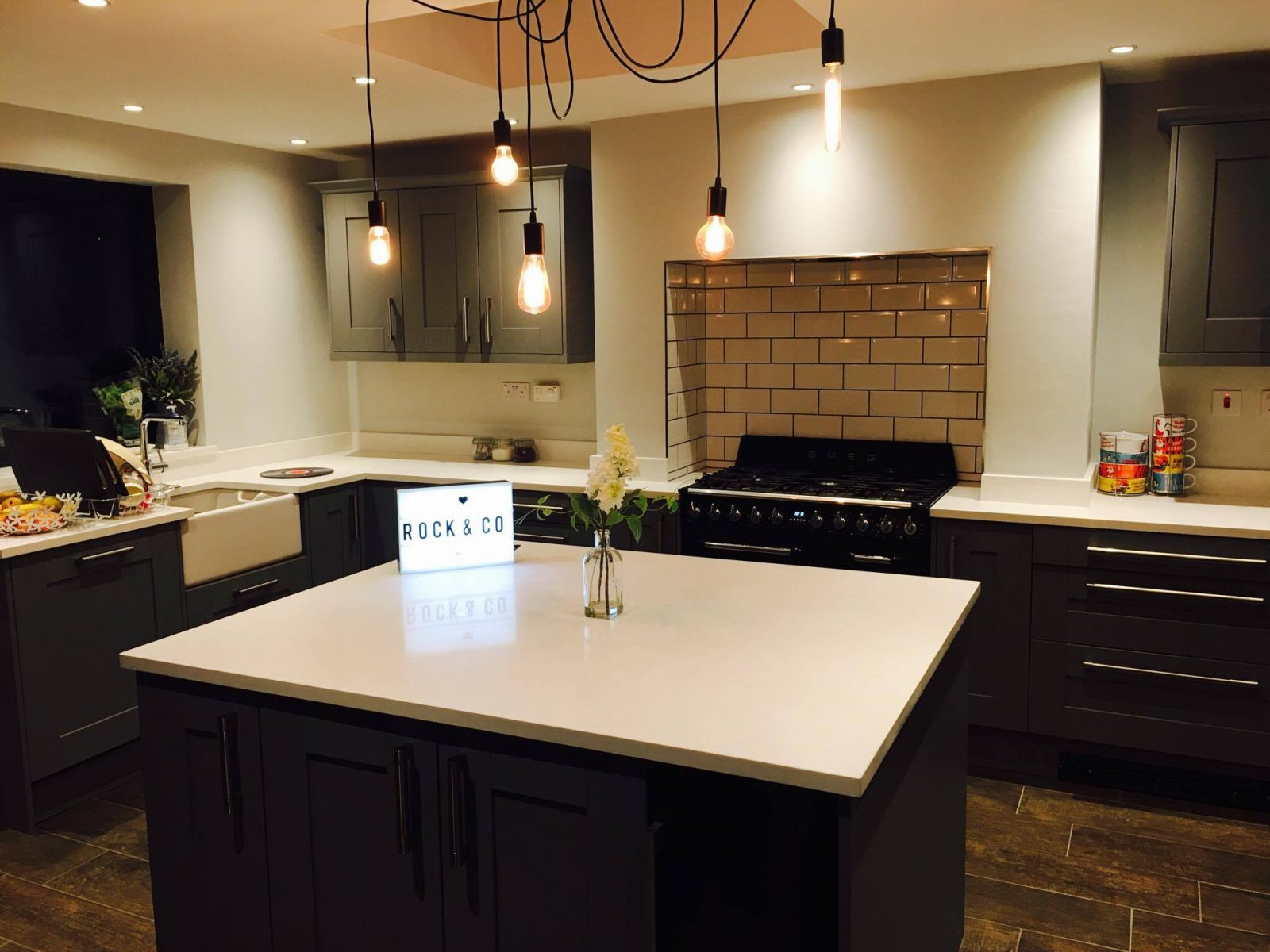 Transform your kitchen with track lighting  Rock and Co