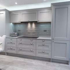 Gray Cabinets Kitchen Commercial Hood Parts Grey Kitchens Are Taking Over Rock And Co Granite Ltd