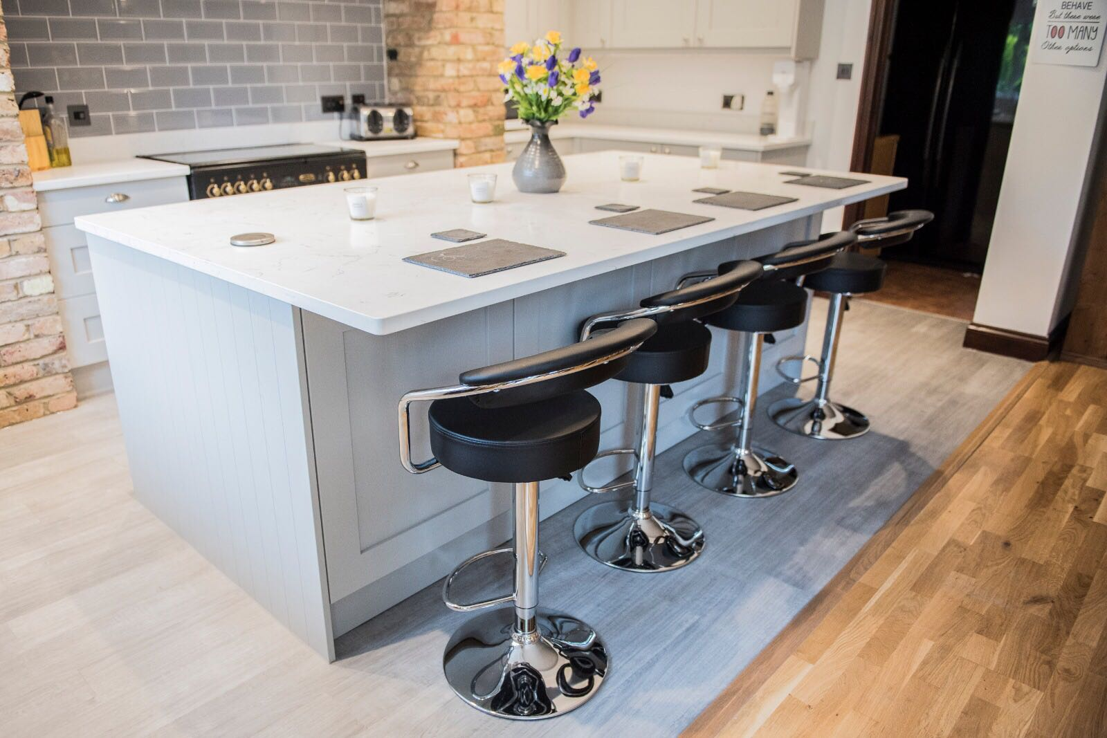 Is There Room For A Kitchen Island? Rock And Co Granite Ltd