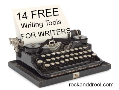 14 free writing tools for writers rock and drool