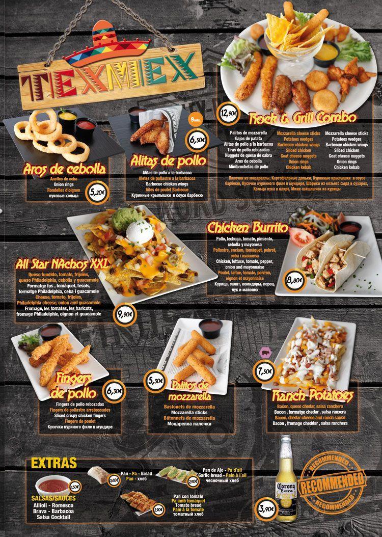 Restaurante Salou RockGrill tex mex