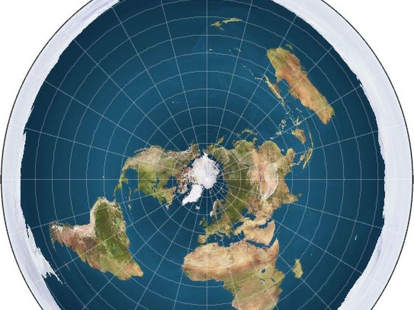Por qu algunos grupos dicen que la tierra es plana