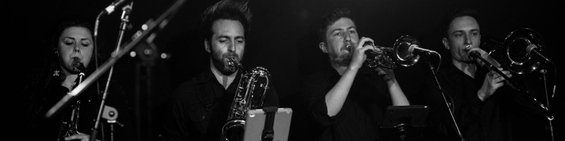 On & Offstage… with the Danny Bryant Big Band (La Belle Angele, Edinburgh – 28/04/17)