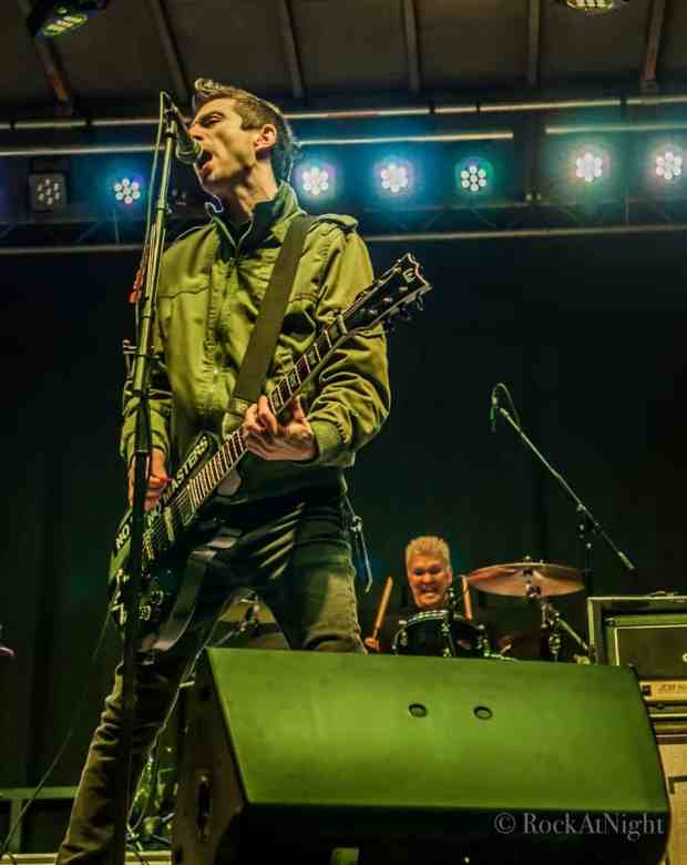 Justin Sane and Pat Thetic of Anti-Flag