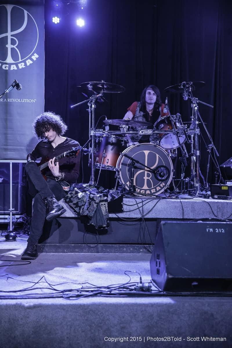 Setup / Sound check for the band Kougaran