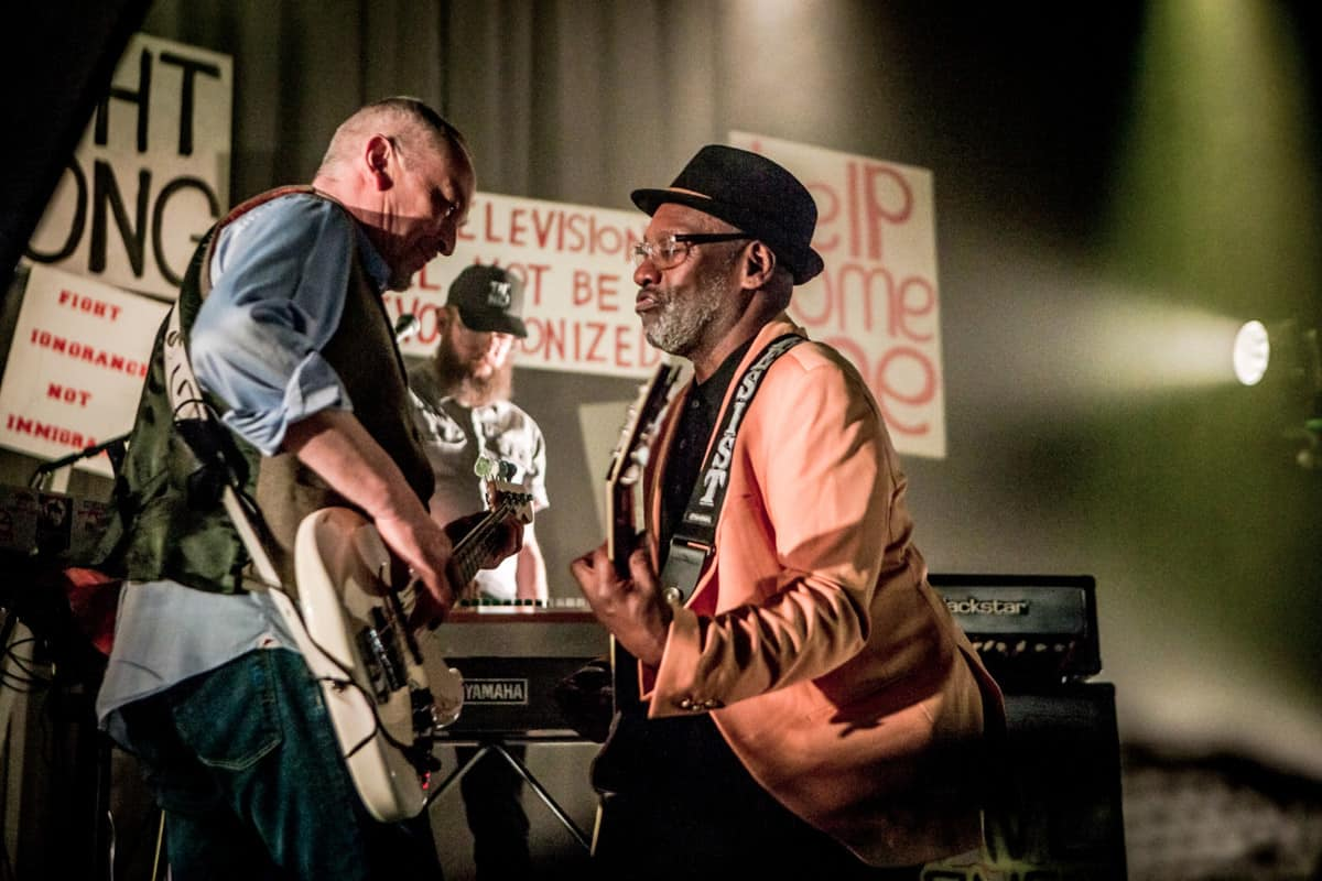 Horace Panter and Lynval Golding of The Specials