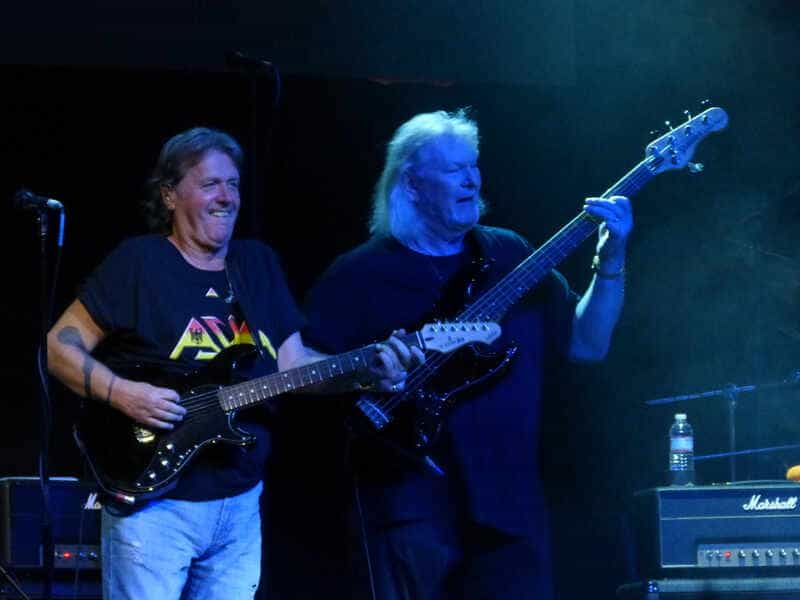 JOHN WETTON (ASIA) and CHRIS SQUIRE (YES)