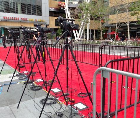 American Idol Red Carpet Live Shot Area