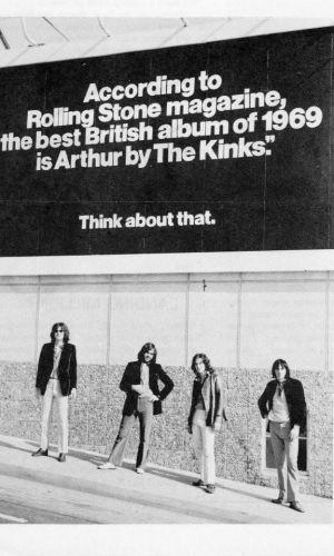 kinks billboard