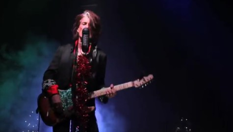 joe perry run run rudolph cap