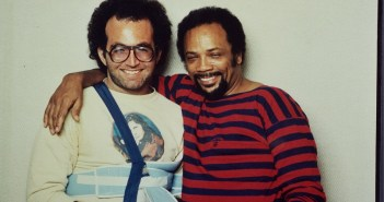 Steve Rosen and Quincy Jones (Photo: Glen Laferman)