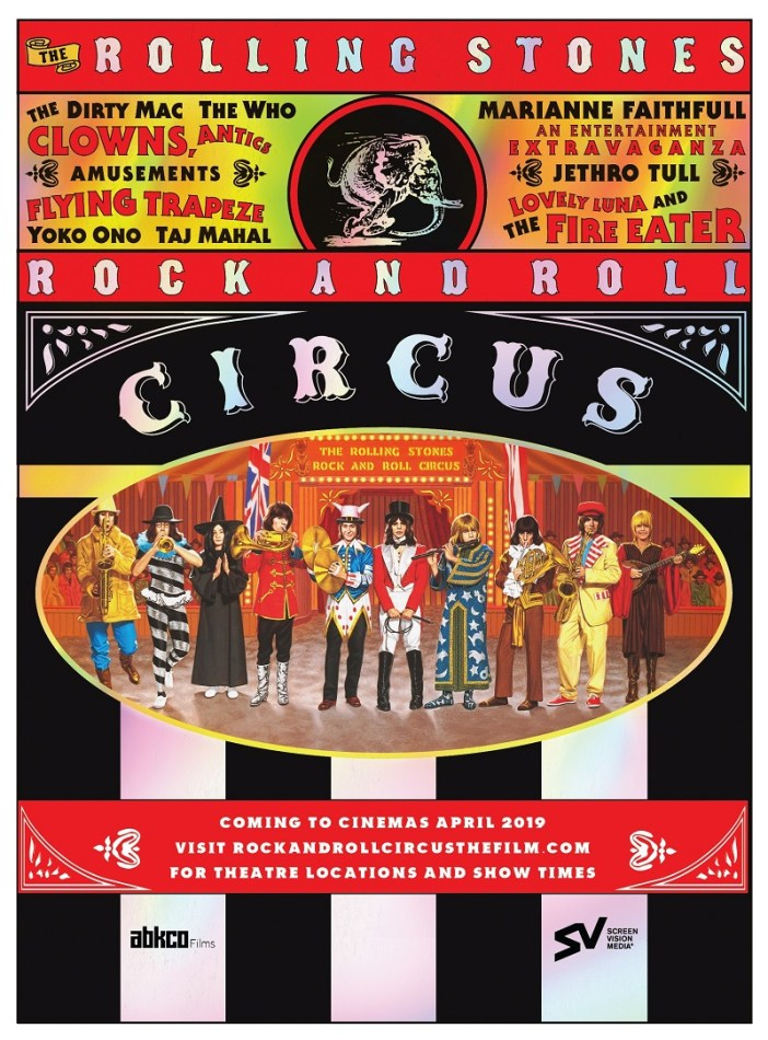 Rock and Roll Circus art