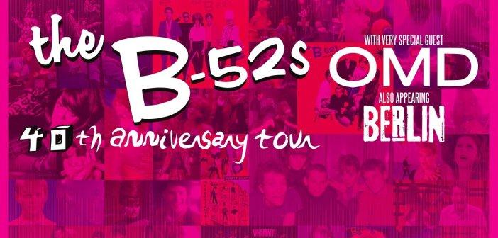 b-52s 40th anniversary tour banner