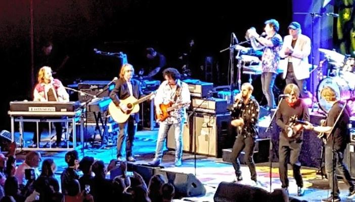 Bill Mumy and Ringo's All-Star Band at the Greek Theatre (Photo: Bill Mumy)