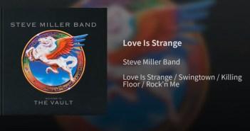 steve miller band the vault love is strange