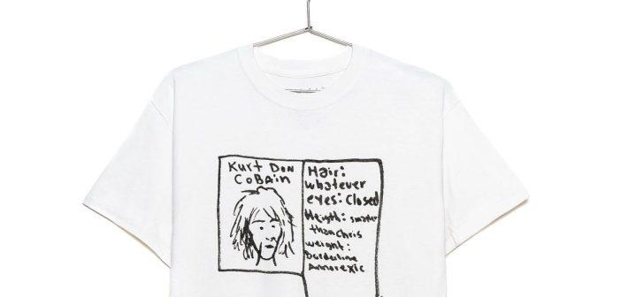 kurt cobain was here shirt (KurtCobainShop.com)