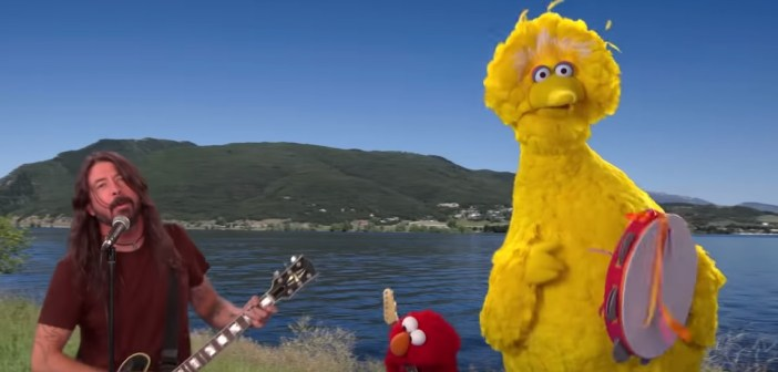 dave grohl sesame street band