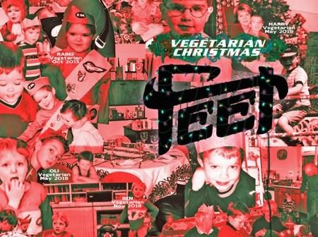 feet vegetarian christmas