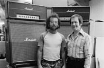 Steve Rosen and Jim Marshall (Photo: Neil Zlozower)