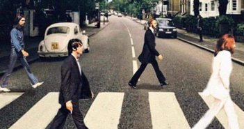 Abbey Road Social Distancing (Photo: Twitter user @BDStanley)