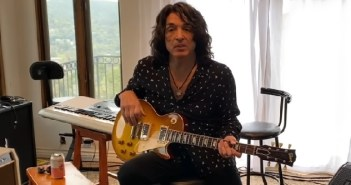 Paul Stanley of KISS at home