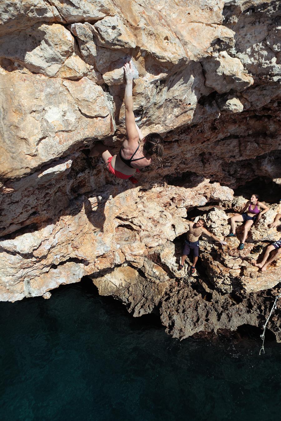 Lauren Abernathy Deep Water Solo Mallorca