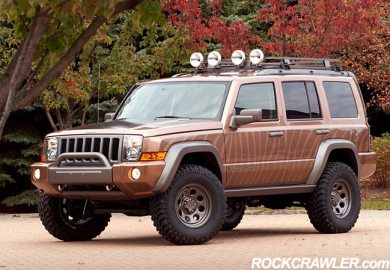 Jeep Liberty Off Road Accessories