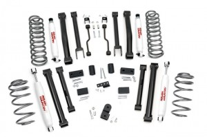 "Rough Country's New 4"" Jeep ZJ Kit Offers More Parts for"