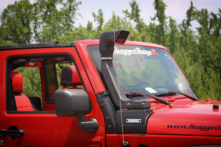 3 Rivers Jeep >> RUGGED RIDGE DEVELOPS UNIQUE SNORKEL SYSTEM FOR '07 - '11 JK JEEPS - RockCrawler.comRockCrawler.com