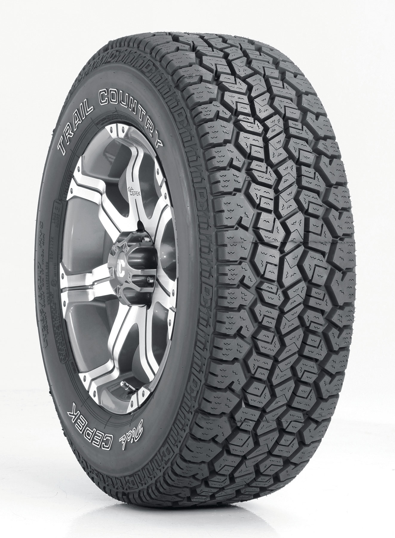 Cooper Tire Dealers >> DICK CEPEK® TIRES & WHEELS INTRODUCES NEW TRAIL COUNTRY ...