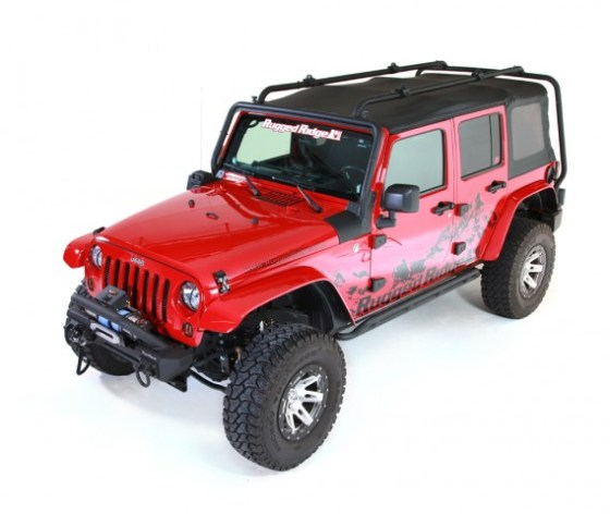Rugged Ridge Sherpa Roof Rack for 4-Door JK Wrangler