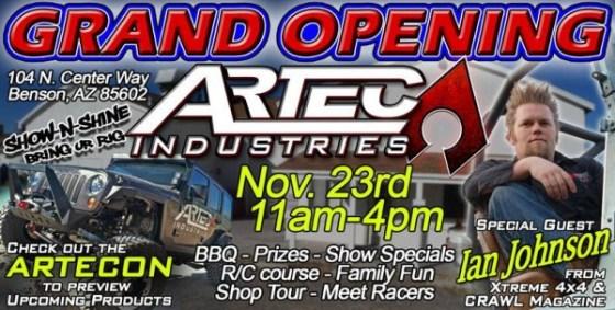Artec Grand Opening