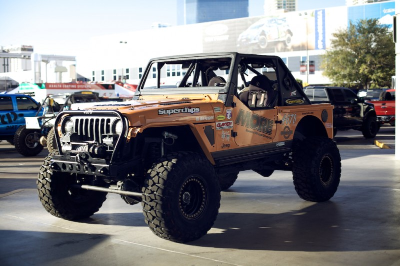 jeep wrangler tj rock crawler sema