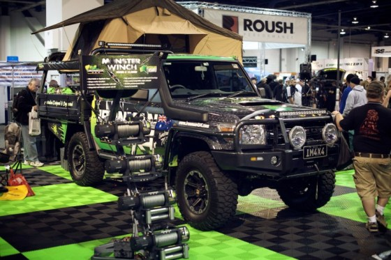 70 series land cruiser sema ironman