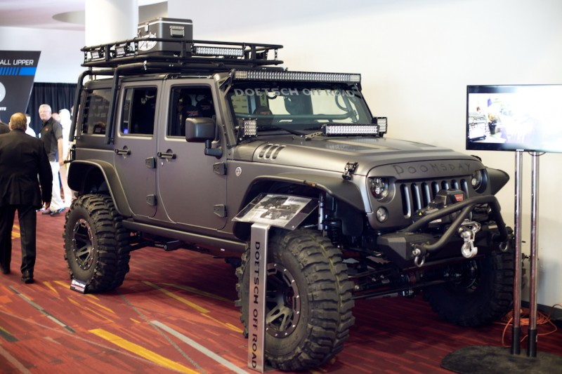 tactical jeep sema
