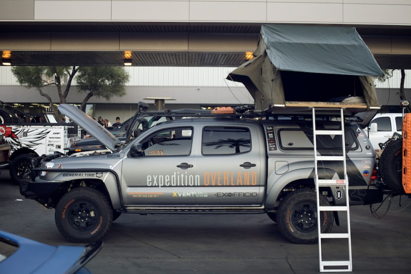 expedition overland toyota tacoma sema