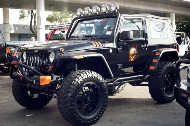 jeep wrangler jk sema