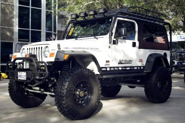 jeep wrangler lj sema