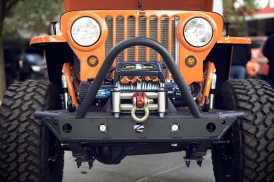 Rad Jeep Willys