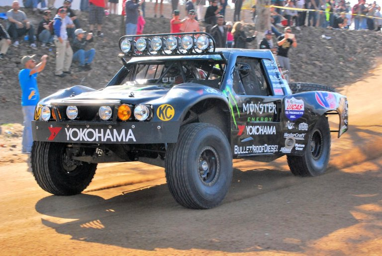 Cameron Steele racing on Yokohama Geolandar tires at the 2013 Baja 1000