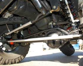 Clayton Off Road High Steer Kit - installed