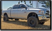ICON Ram 3500 with coilovers