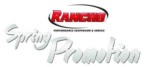 Rancho Suspension Spring Promotion