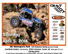 W.E. Rock - Dirt Riot - Tucson AZ
