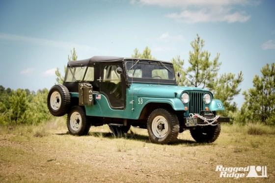 1967 Jeep CJ-6 - Omix-ADA
