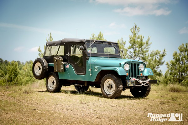 1967 Jeep CJ-6 - Omix-ADA