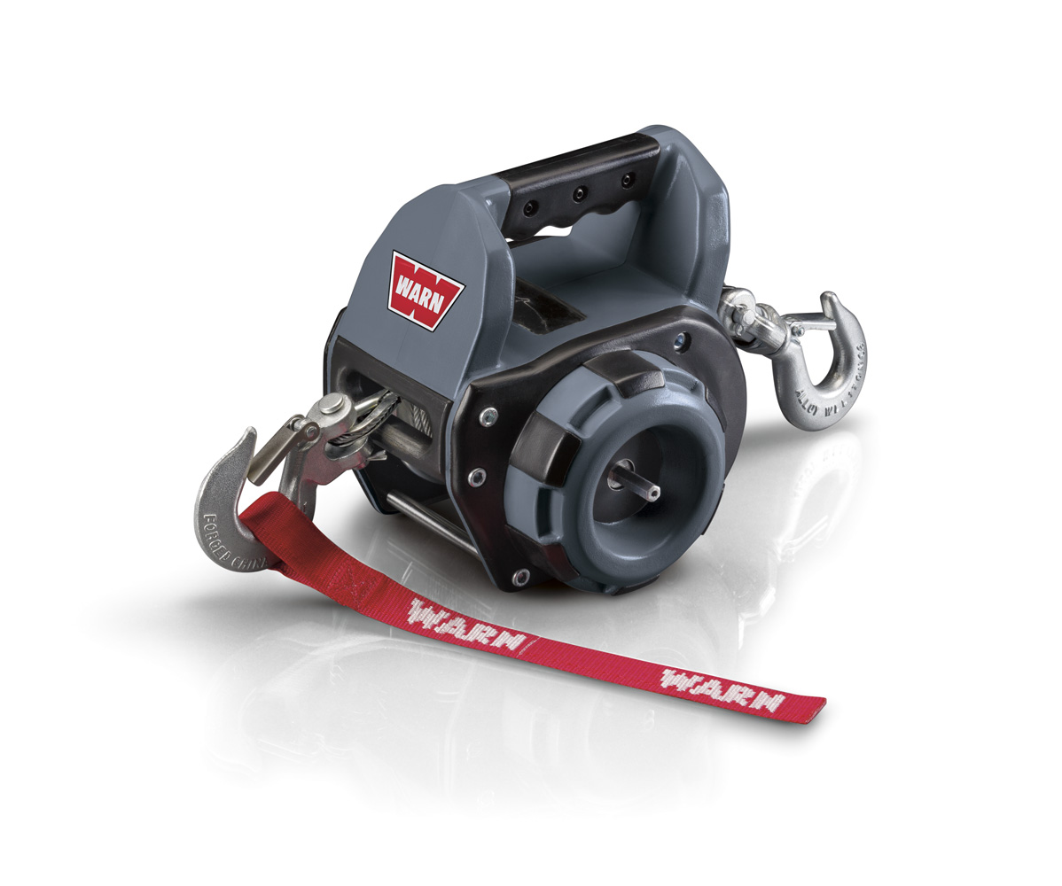 Warn Industries Introduces a New Portable Winch Powered by a