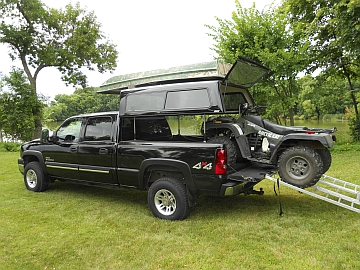 A R E S Topperezlift Increases Space Under Truck Caps