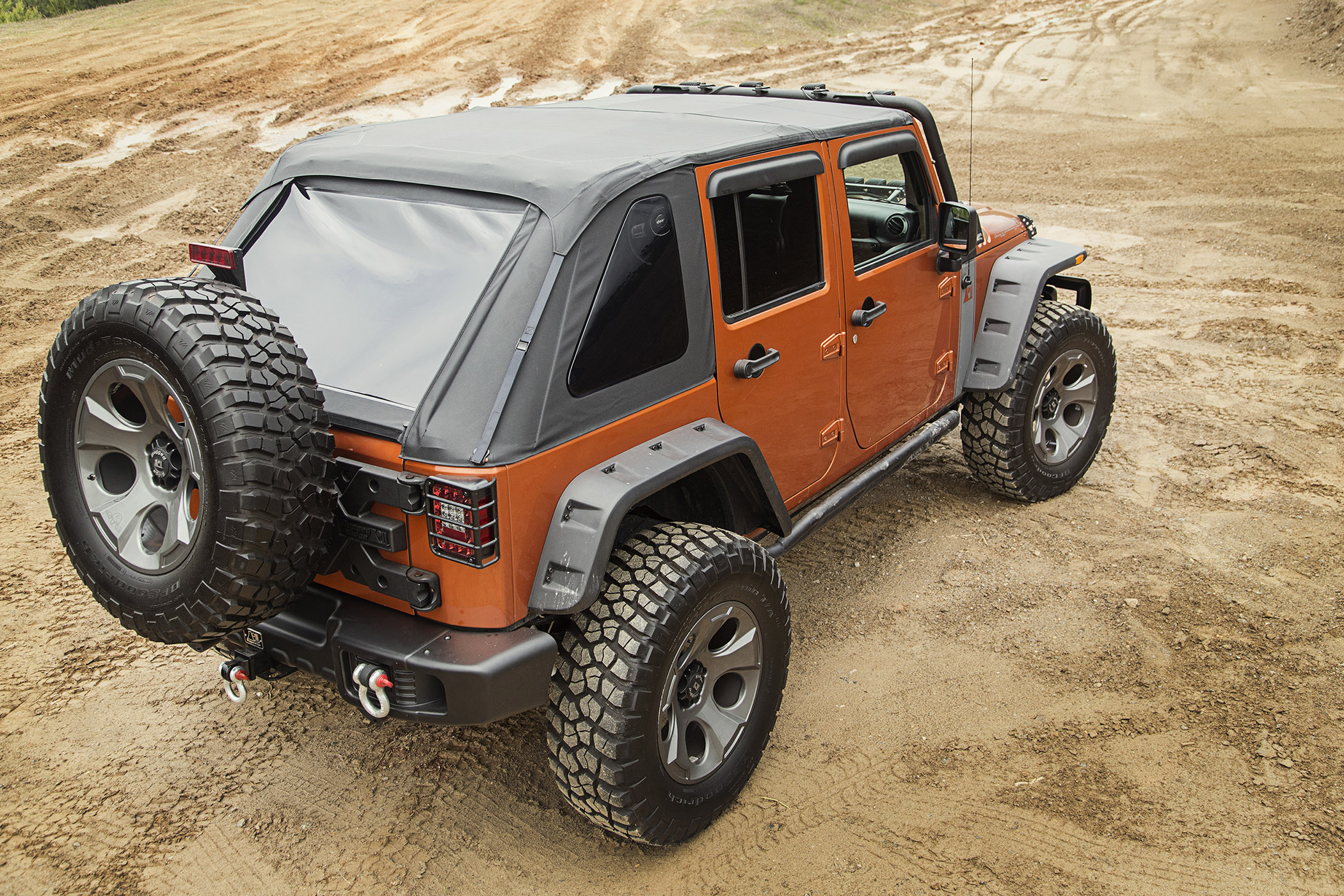 Rugged Ridge Announces New Bowless Soft Tops For 2007 2016
